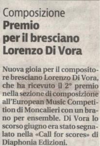 Giornale di Brescia 14 dic. 2017